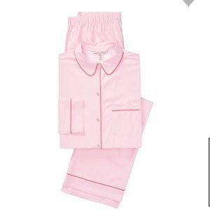 Victoria's Secret.The Satin PJ Set Pink  XLR
